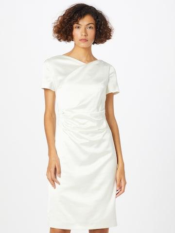 Rochie de cocktail de la SWING pe alb