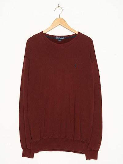 POLO RALPH LAUREN Pullover in XL in blutrot, Produktansicht