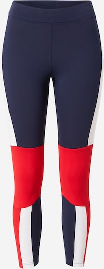 FILA Pantalon de sport 'PINUCCIA' en bleu marine / rouge / blanc, Vue avec produit