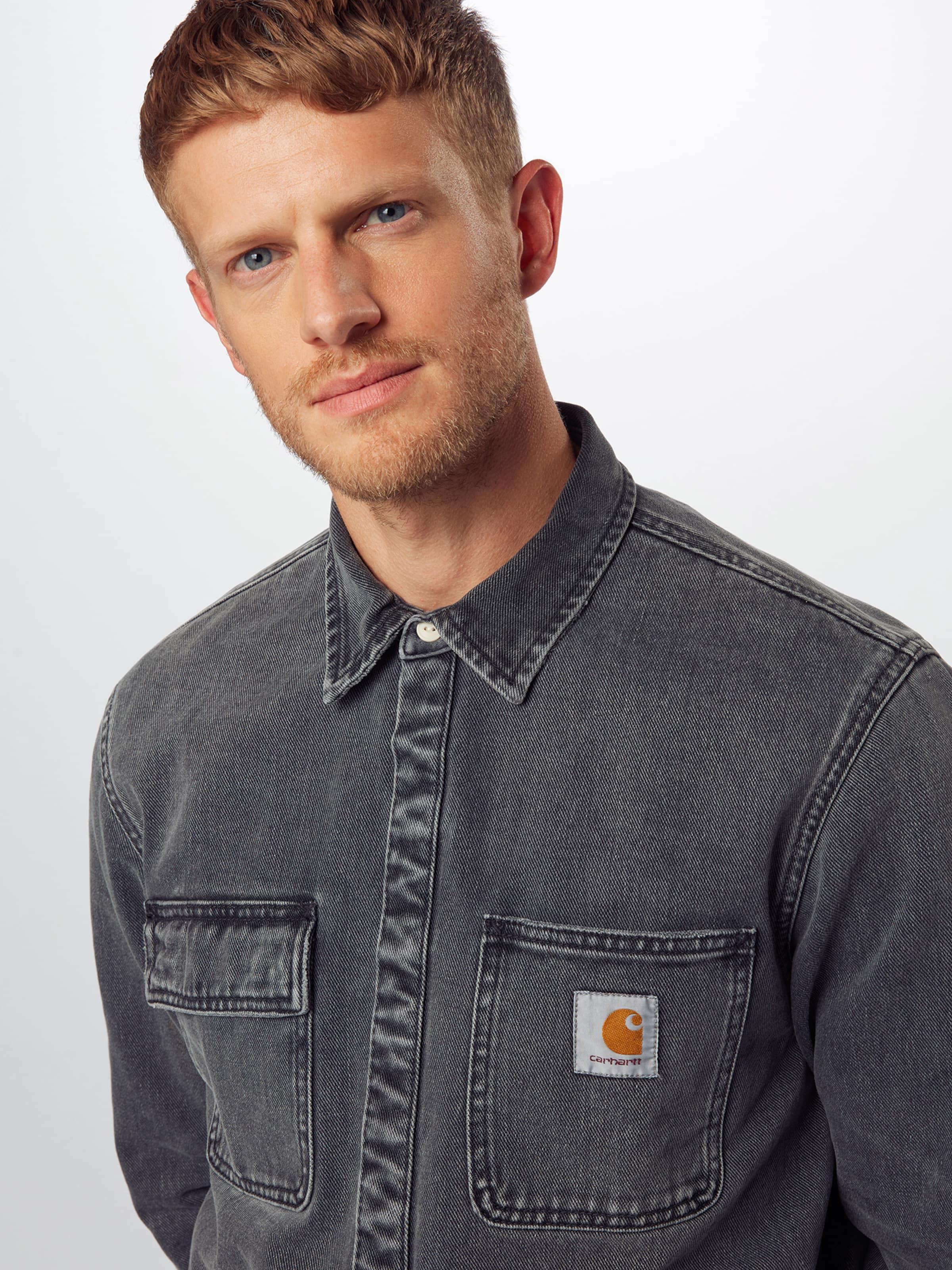 Carhartt WIP Skjorta 'Salinac' i grå