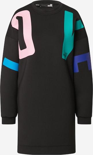 Love Moschino Obleka | modra / žad / pastelno roza / črna barva, Prikaz izdelka