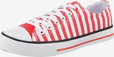 Inselhauptstadt Sneaker in rot / weiß, Produktansicht