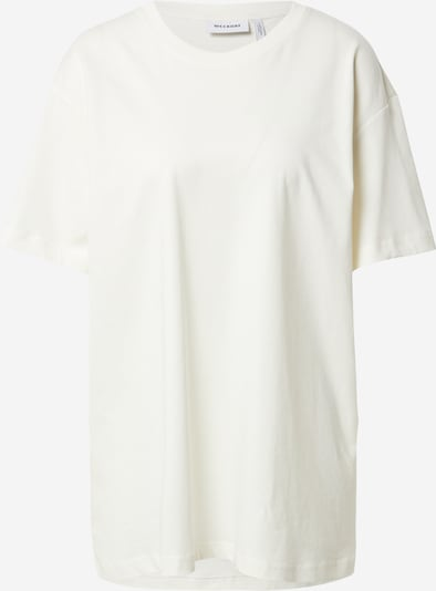 WEEKDAY Koszulka oversize w kolorze offwhitem, Podgląd produktu