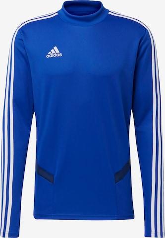 ADIDAS PERFORMANCE Funktionsshirt 'Tiro 19' in Blau