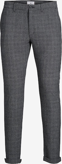 JACK & JONES Chinobyxa 'MARCO STUART' i grå / svart, Produktvy
