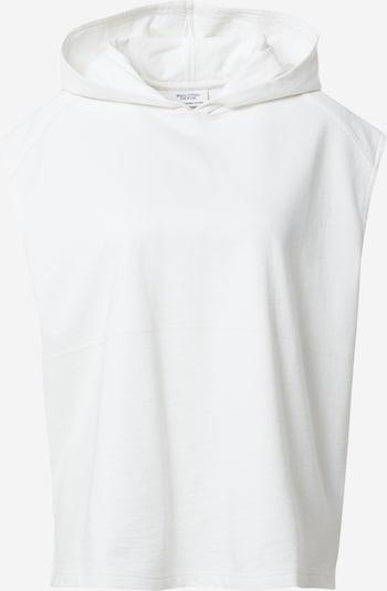 Marc O'Polo DENIM Sweatshirt en weiß, Vue avec produit