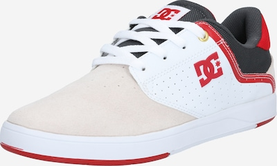 DC Shoes Sneaker 'PLAZA ' in anthrazit / altrosa / rot / weiß, Produktansicht