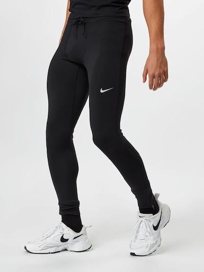 Sportinės kelnės 'Challenger' iš NIKE, spalva – juoda / balta, Modelio vaizdas