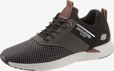 Dockers by Gerli Sneaker in chamois / graphit / schwarz, Produktansicht