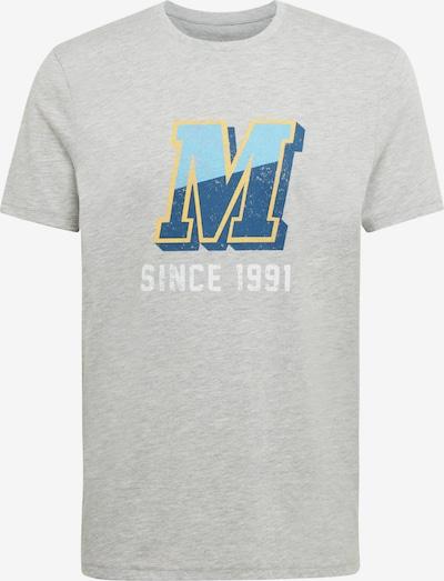 Mavi T-Shirt in blau / gelb / grau / weiß, Produktansicht