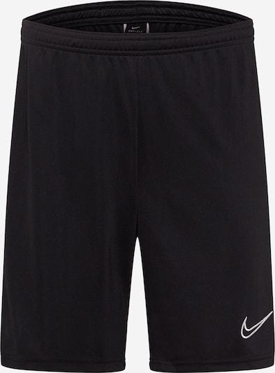 NIKE Pantalón deportivo en negro / blanco, Vista del producto