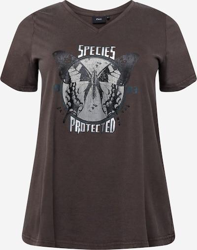Tricou Zizzi pe gri / gri metalic / argintiu, Vizualizare produs