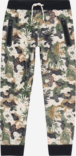 Noppies Housut 'Leavenworth' värissä ruskea / khaki / musta / valkoinen, Tuotenäkymä