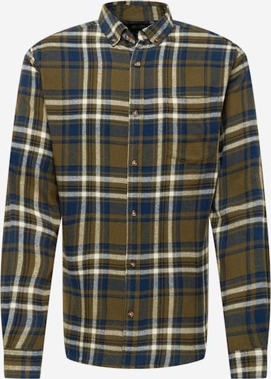 Only & Sons Overhemd in de kleur Blauw / Groen / Wit, Productweergave