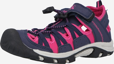 Kamik Sandales 'WILDCAT' en bleu marine / rose, Vue avec produit