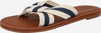 ROXY Pantolette 'KNOTICAL' in beige / dunkelblau, Produktansicht