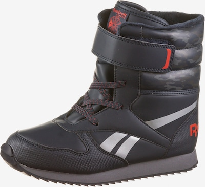 REEBOK Stiefel 'CL Snow Jogger' in navy / rot / weiß, Produktansicht