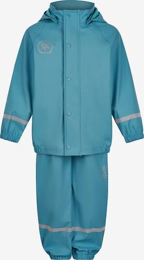 COLOR KIDS Regenanzug in blau / silber, Produktansicht