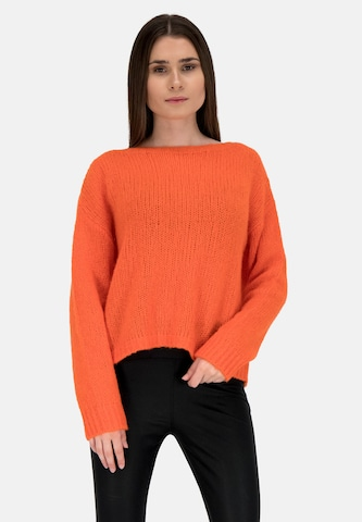 Frogbox Sweater 'UNI' in Orange
