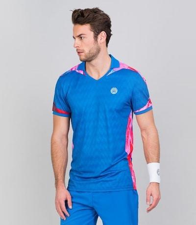BIDI BADU Poloshirt 'Tano' in blau: Frontalansicht