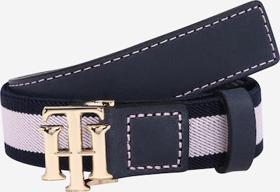 TOMMY HILFIGER Riem in de kleur Goud / Donkergrijs / Rosa, Productweergave