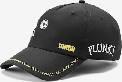 PUMA Cap in gelb / schwarz / weiß, Produktansicht
