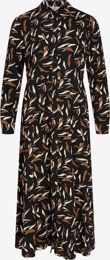 OBJECT Kleid in braun / schwarz / weiß, Produktansicht