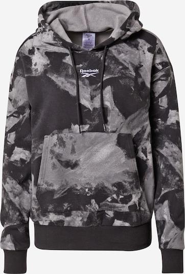 Reebok Sport Athletic Sweatshirt in Grey / Black, Item view