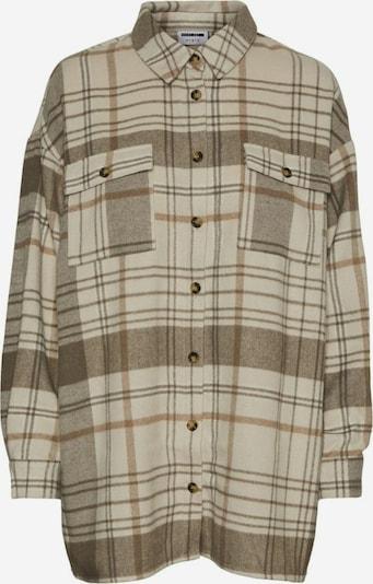 Camicia da donna Noisy may di colore camello / beige scuro, Visualizzazione prodotti