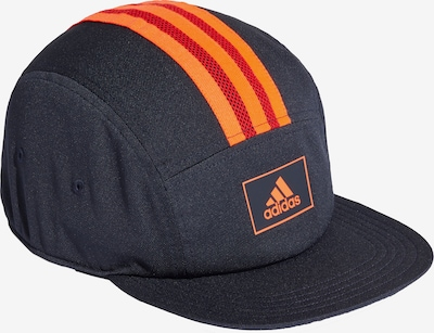 ADIDAS PERFORMANCE Sportcap in nachtblau / orange / hellrot, Produktansicht