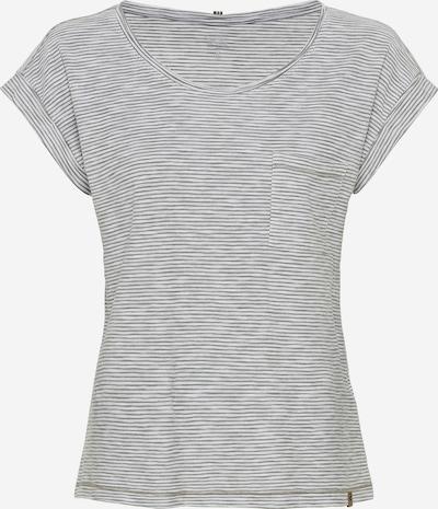 CAMEL ACTIVE T-Shirt in oliv / weiß, Produktansicht