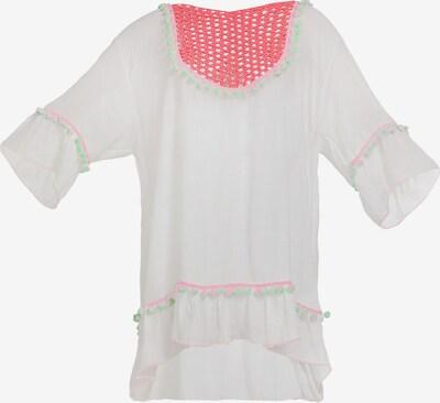 MYMO Strandjurk in de kleur Pink / Wit, Productweergave