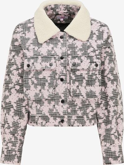 MYMO Jacke in grau / rosa / wollweiß, Produktansicht