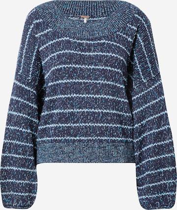 Free People Sweatshirt in Blue