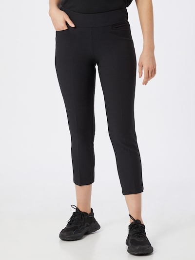 adidas Golf Sportbroek in de kleur Zwart: Vooraanzicht