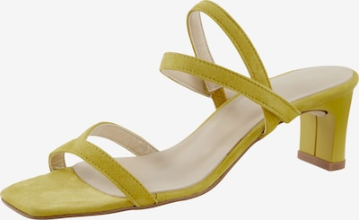 heine Sandalette in zitrone, Produktansicht