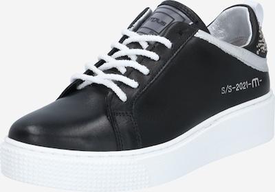 fekete / fehér MJUS Rövid szárú edzőcipők 'TODAY ', Termék nézet