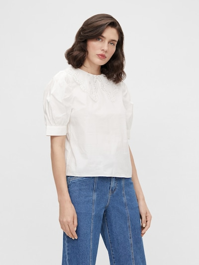 OBJECT Blouse 'Minna' in Off white, View model