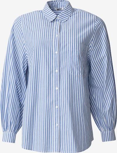 Indiska Blusen in blau / weiß, Produktansicht