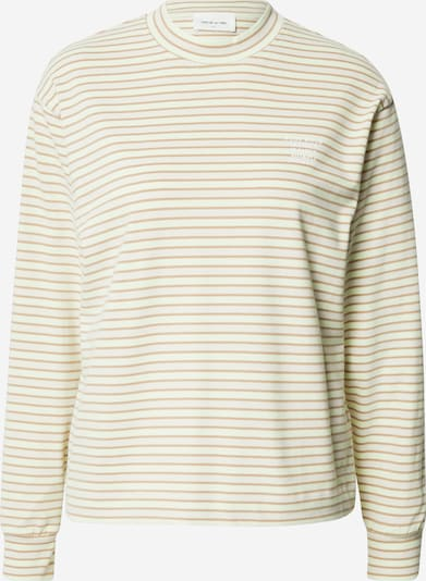 WOOD WOOD Shirt 'Astrid' in de kleur Lichtbruin / Lichtgroen / Wit, Productweergave