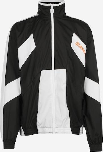 PUMA Trainingsjacke ' The Hundreds x ' in schwarz / weiß, Produktansicht