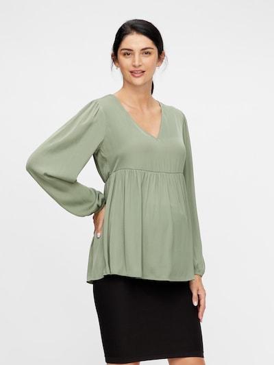 MAMALICIOUS Bluse in khaki, Modelansicht
