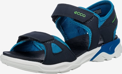 ECCO Sandale in nachtblau / himmelblau, Produktansicht