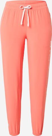 NIKE Спортен панталон в оранжево