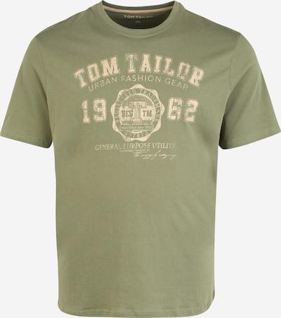 TOM TAILOR Men + T-Krekls, krāsa - zaļš, Preces skats