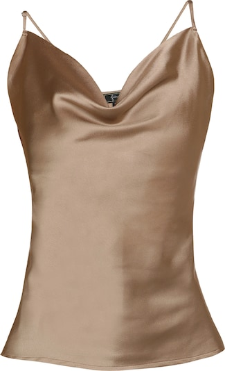 faina Top in beige, Produktansicht