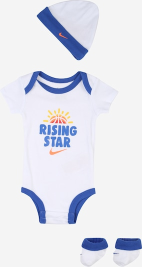 Nike Sportswear Set 'Rising Star' in blau / gelb / rot / weiß, Produktansicht
