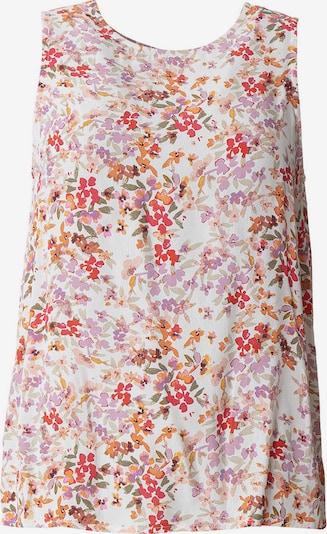 Indiska Bluse in rosa / rot / weiß, Produktansicht
