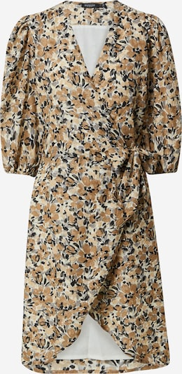SOAKED IN LUXURY Robe 'Melrose' en beige / marron / or / gris / noir, Vue avec produit