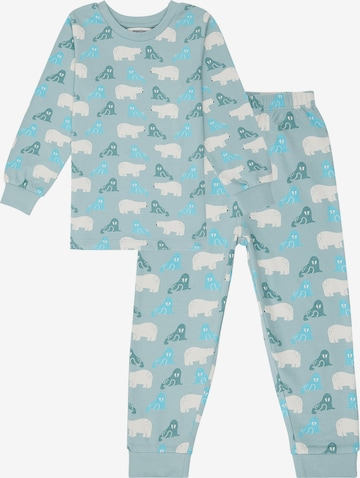 Pijamale 'JOHN' de la Sense Organics pe albastru